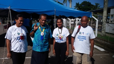Stop human trafficking in Fiji
