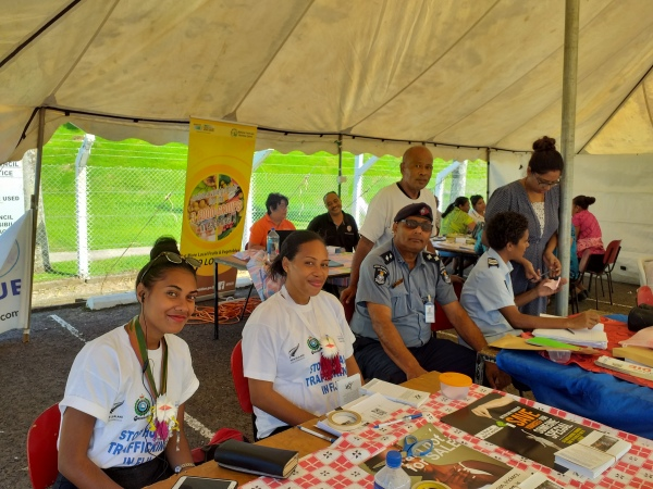 Rotuma day - Pacific Dialogue Fiji booth